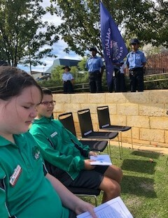 ESC Snippets BCC ANZAC Ceremony