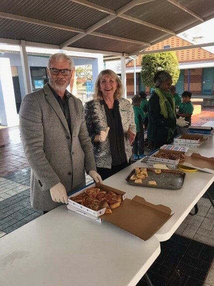 Pizza with the principal 2